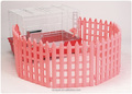 Small Pet Wire Cage with Fence