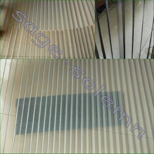Polyester Plisse Insect Screen,Retractable Window Screen Mesh