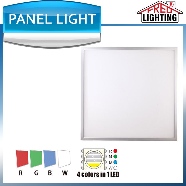 595X595MM RGBW RGB and White Panel 600x600 50W LED Panel Light with TUV approved
