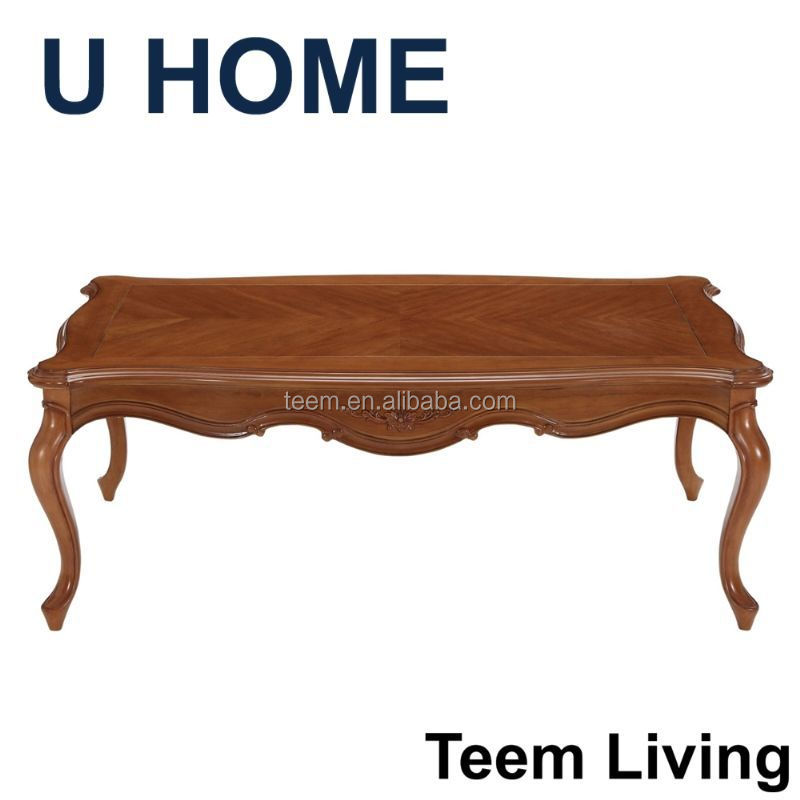 french style living room furniture solid wood european tea table