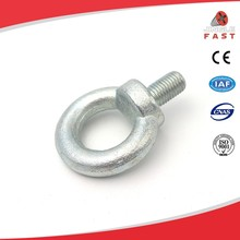 China suppliers fasteners high flexibility eye bolts m10