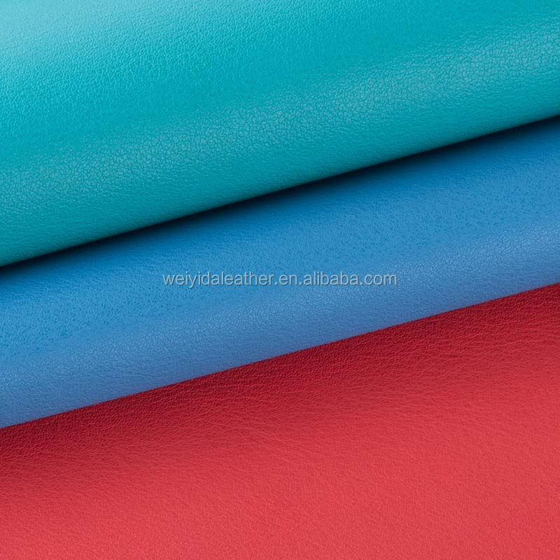 Pu synthetic leather for men bag /shoe making, leather material for car seat cover/furniture