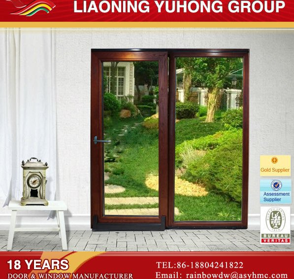 Factory wholesale top quality low price customized Used Exterior Sliding Glass Doors Sale