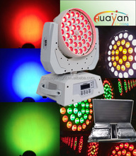 36 x*15w 6-in-1 rgbaw LED zoom wash moving head light/dj equipment system for disco night club party led lighting