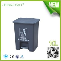 JIE BAOBAO! FACTORY MADE 15L INDOOR PLASTIC FOOT PEDAL CONTAINER WOMEN SEX HOTEL