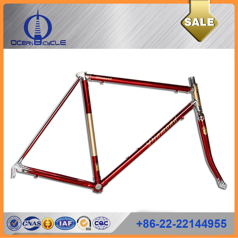 2017 chrome bicycle frame , 700c bicycle frame for chrome bike