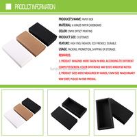 china wholesale market cheap small black kraft paper slide in pull out fancy sliding open drawer gift box for products packing