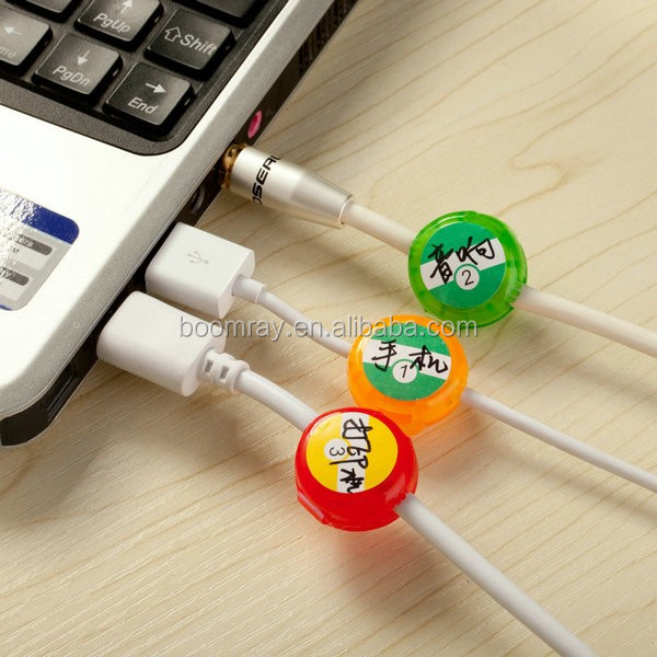 Best promotion gift online shopping dollar store item multipurpose plastic cable Marker