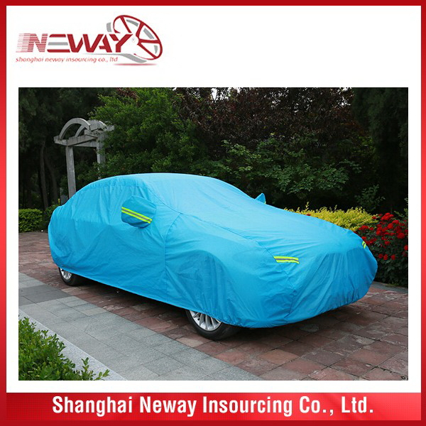 Newly useful hatchback portable car cover