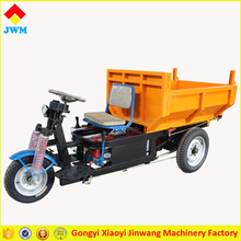 Trade assurance three wheels electric cargo tricycle with hydraulic