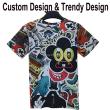 custom dye sublimation t-shirt printing hong kong