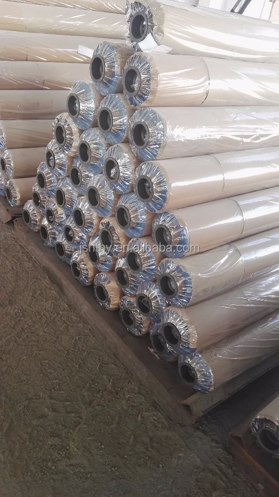 PVC Transparent Film with Powder for Packing Bags