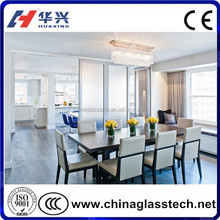 Soundproof Decorative Glass Living Room Kitchen Partition