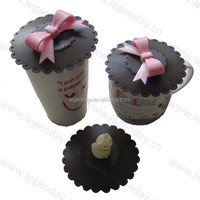 Wholesale customed silicone cup cover universal cup coffee silicone lid silicone coffee mug lid