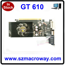 GT 610 2GB Graphic Card Price 128BIt DDR3 GT610 VGA Card