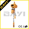 HHBD type yale electric chain hoist 1ton 380v electric hoist with running trolley