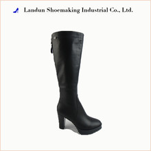 Winter Genuine leather knee Boots fashion lady shoes