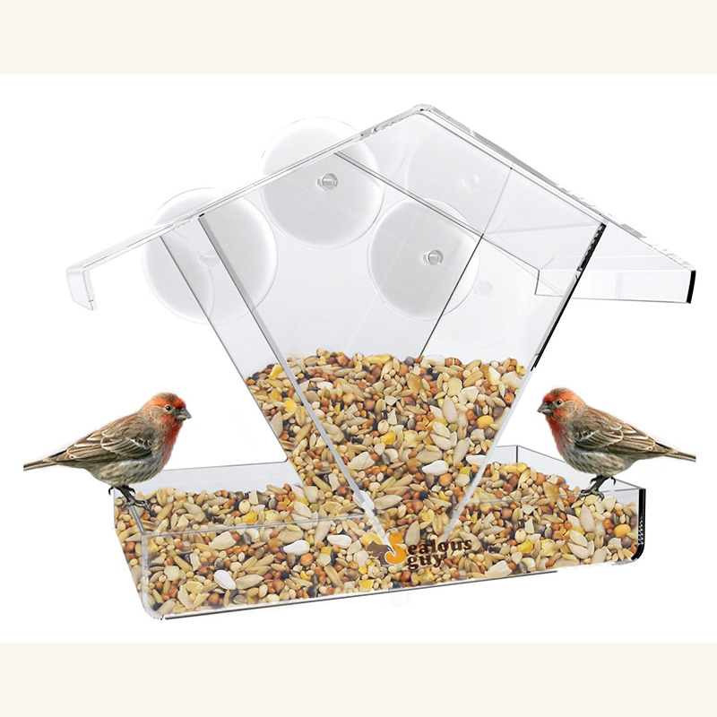 parrot pin unbranded finch acrylic mess seed bird cockatiel feeder tidy pet no feeders toys canary
