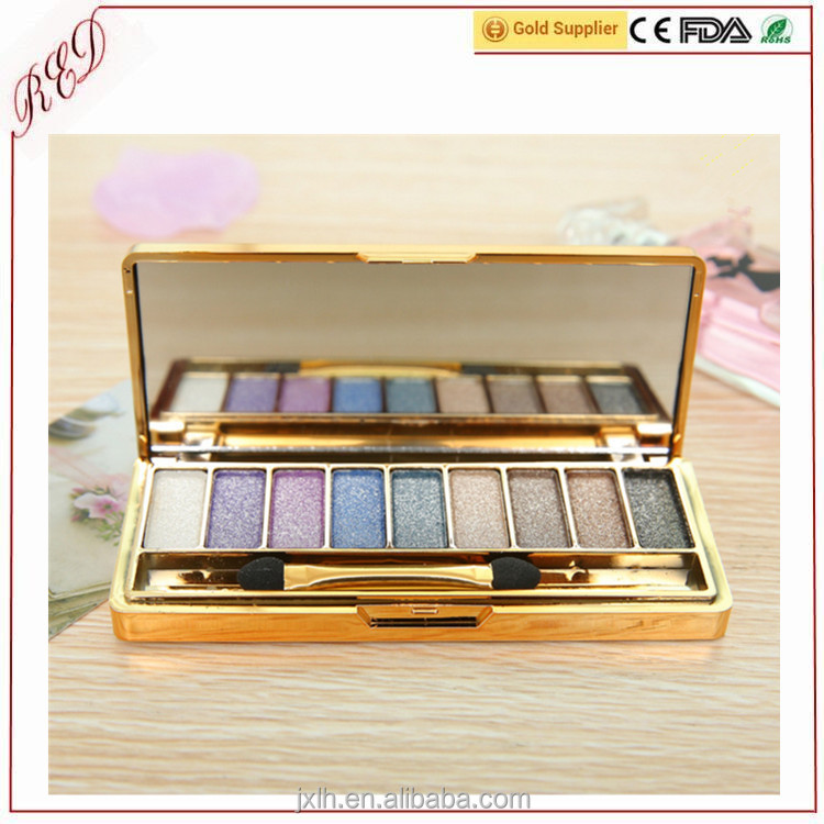 2017 New design Best Shimmer MakeUp Oem 9 Color Diamond Eye Shadow of Higih Quality