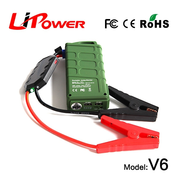 12000mA 12v emergency jump starter portable lithium jumpstarters micro usb car charger with micro input