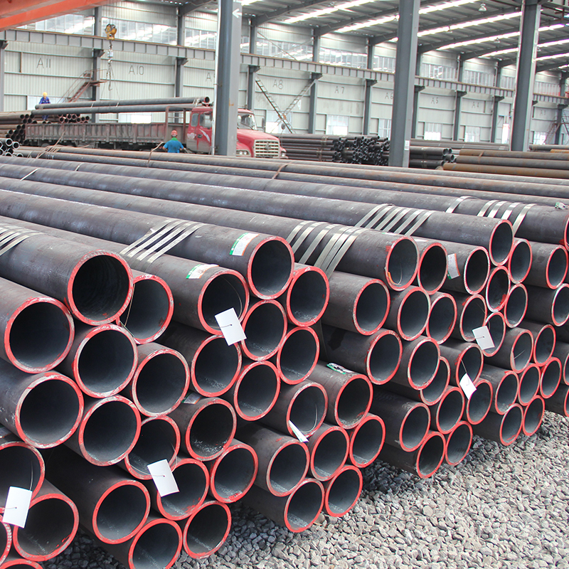 Serviceable non secondary large diameter seamless steel