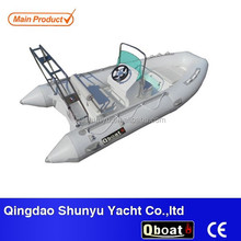 rigid double inflatable sport fishing yacht