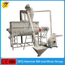 High quality chicken feed crushing and mixing machine for sale
