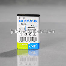 China 3.7V replacement phone battery with dual IC 1100mAh for Nokia, BL-5C