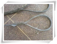 6X29FI+IWRC ungalvanized steel line contacted wire rope/wiring cable/steel towing rope