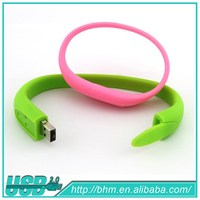 wrist Watch Silicone Bracelet Usb Flash Drive high speed pen drive