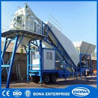 Machine For Small Business Movable Beton Batching Plant