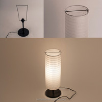 High quality paper lamp in China best selling table lamp