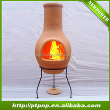 2014 hot sale outdoor clay fire chiminea for home and garden