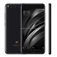 Drop shipping online shopping hot 4G mi mobile phone 6GB+128GB 5.15 inch MIUI 8.0 Xiaomi Mi6 Qualcomm Snapdragon 835 Fingerprint