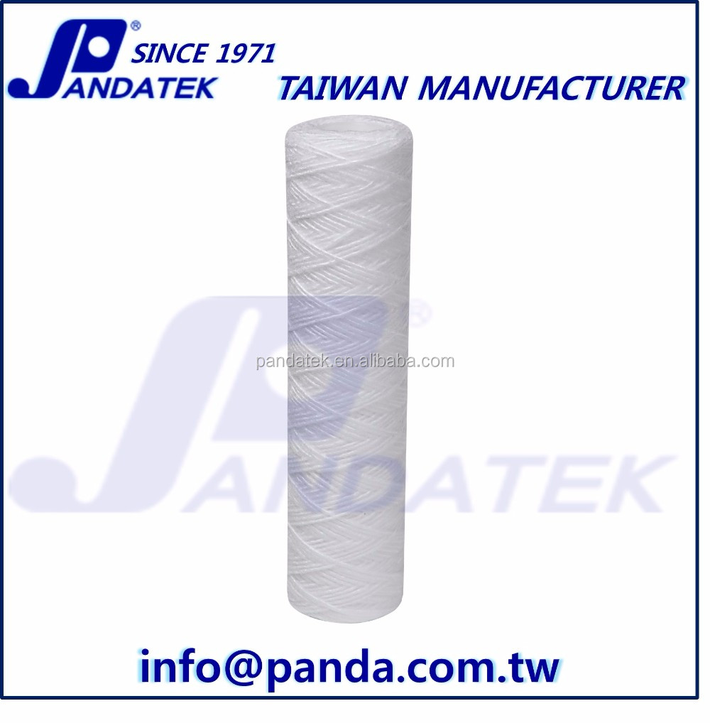 PP String Wound Water Filter Cartridge for Plating, Pre RO, Chemical, Petrochemical, Food