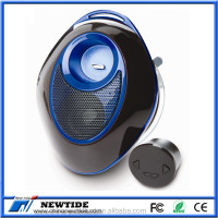Portable waterproof wireless bluetooth speaker with transmitter receiver