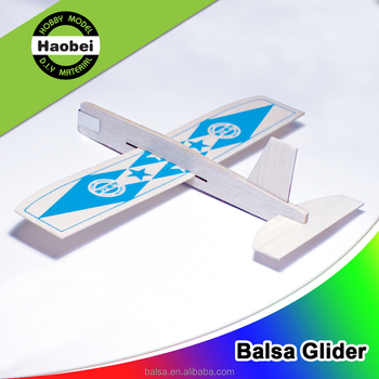 cute wood balsa model plane