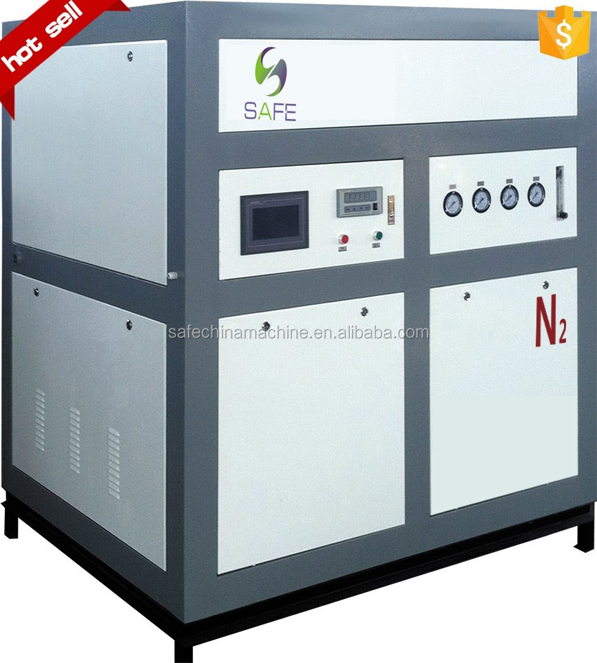 high purity low price nitrogen gas charging equipment China factory supply