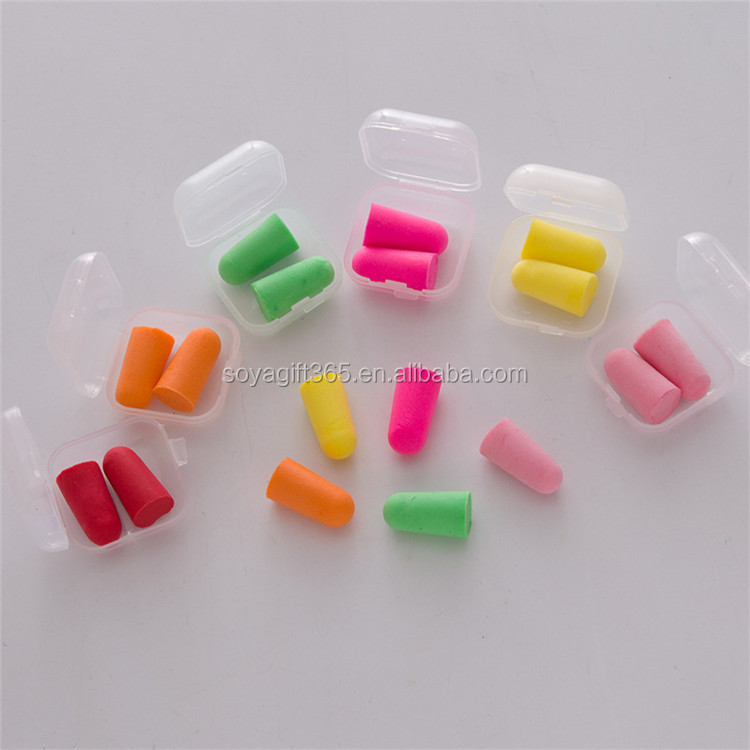 Soft Foam Ear Plugs Travel Sleep Noise Prevention Earplugs Noise Reduction For T