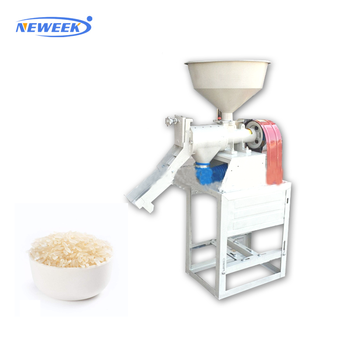 NEWEEK capacity 200 kg/h sticky huller paddy rice mill machine