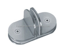T-Style stainless steel glass door clamp hinge connector K-1008