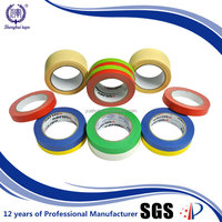 China Best Factory 2 Inch 60 Degrees Masking Paper Crepe Tape
