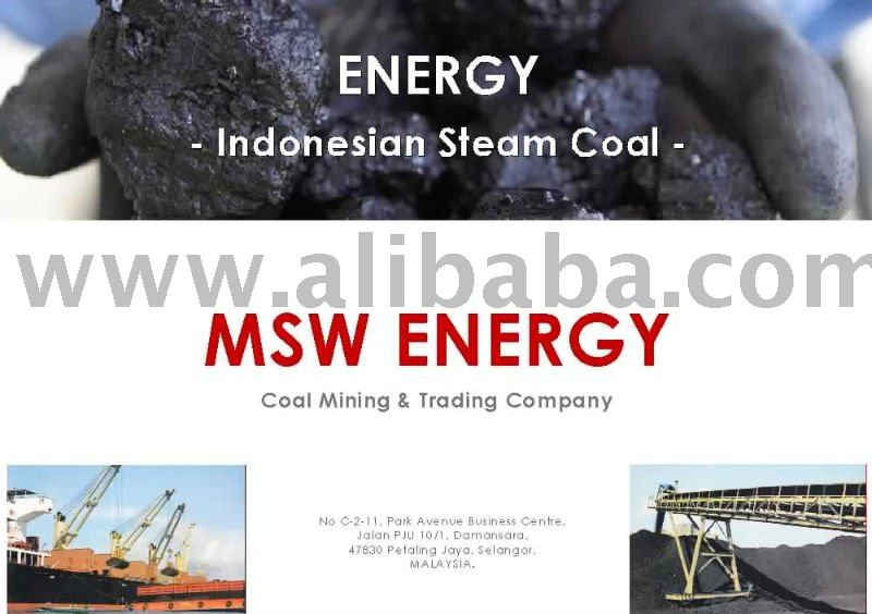 Indonesian Steam Coal - non coking (FOB ONLY)