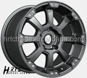 HRTC chrome wire wheel 17*9.0 inch black covers mag wheel rim