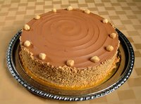 Hazelnut cake flavor for confectioneries.