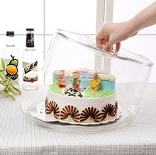 BPA Free Clear China Factory Plastic Cake Bread Container Box