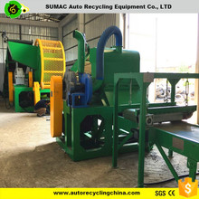 Rubber rotating shredder machine for sale/Used tyre machine