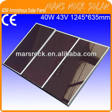 40W 43V Amorphous Thin Film Solar Panel