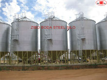 Hopper bottom grain storage galvanized steel silos for sale/used storage silos with good price