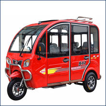three wheel 4 seats passenger e rickshaw